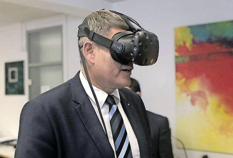 besuch virtual reality